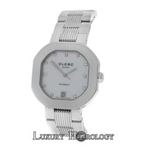 Clerc Authentic Unisex 801 Limited Ed. Steel Diamond Date
