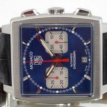TAG Heuer Monaco Steve Mc Queen Cadran Bleu Boite & Papiers