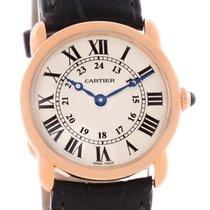 Cartier Ronde Louis 18k Rose Gold Ladies Watch W6800151