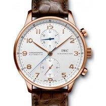 IWC Schaffhausen IW371480 Portugieser Chronograph Silver...