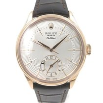 Rolex Cellini dual time 50525 full set never polished warranty...