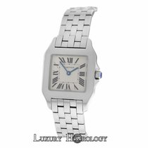 Cartier Authentic Ladies  Santos Demoiselle 2701 Stainless Steel