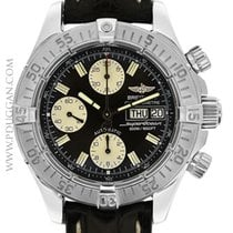 Breitling stainless steel SuperOcean Chronograph
