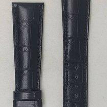 Parmigiani Fleurier leather black strap 21 / 17