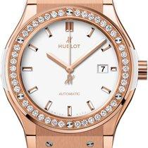 Hublot Classic Fusion King Gold White Diamonds