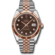 勞力士 (Rolex) Datejust 41mm Stainless Steel and Pink Gold 126331...