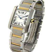 Cartier W51005Q4 Tank Francaise Two Tone - Steel and 18KT...