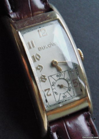Bulova 48mm Curvex Art Deco