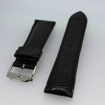 Movado Museum Armband Eidechse schwarz kurz NEU ungetragen