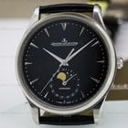 Jaeger-LeCoultre Master Ultra Thin Moon SS Black Dial NOVELTY