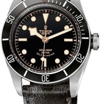 Tudor Heritage Black Bay Men's Watch 79220N-CUIR