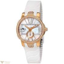 Ulysse Nardin Executive Dual Diamonds & 18K Rose Gold...