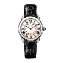 Cartier Ronde Quartz Mens Watch Ref W6700255