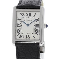 Cartier Tank Solo Stainless Steel 3169 Box / Papers