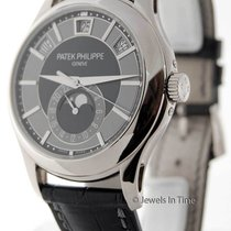 Patek Philippe 5205 Annual Calendar 18K White Gold Mens Watch...