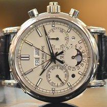 Patek Philippe Perpetual Calendar Split Seconds in Platinum...