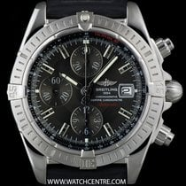 Breitling S/Steel Black Dial Chronomat Evolution Chronograph...