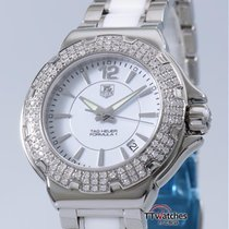 TAG Heuer Formula 1 Lady Diamonds 0.75ct Ceramic  55% Off Retail