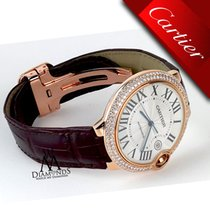 Cartier New Ballon Bleu De Cartier 36mm 18k Rose Gold Datejust...