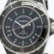 Chanel J12 Emerald Ceramic Automatic Mens Watch H2131 (bf089634)
