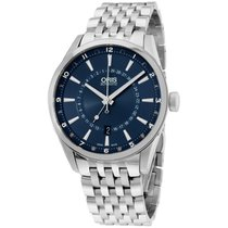Oris Limited Edition Blue Dial Stainless Steel Men's Watch...