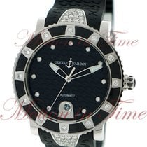 Ulysse Nardin Maxi Marine Ladies Diver, Black Diamond Dial, 12...