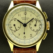 Universal Genève 18 kt Vintage Chronograph, from forties