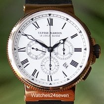 Ulysse Nardin Maxi Marine Chronograph Rose Gold LTD 43mm