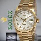 Rolex Datejust President 18k Yellow Gold Jubilee Diamond...
