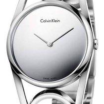 ck Calvin Klein round Damenuhr M K5U2M148