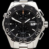 TAG Heuer Aquaracer Calibre 16 Chronograph Stainless steel...