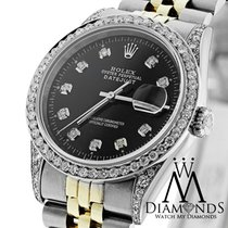Rolex Datejust 16233 36mm Two (2) Tone 18k Gold & Stainess...