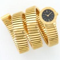 Bulgari Yellow Gold Serpenti Tubogas Bracelet Watch