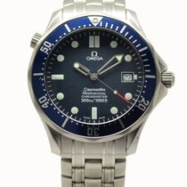 Omega Seamaster Full  Automatic Watch 41mm Blue Dial 2531.80 1999