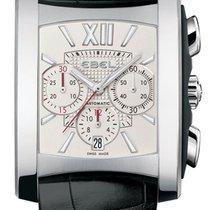 Ebel Brasilia Chronograph Automatic Steel Mens Strap Watch...