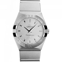 Omega Constellation Stahl Quarz Armband Stahl 24mm Box&Pap...
