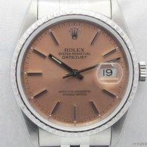 Rolex Oyster DateJust 16220 quadrante salmone full set