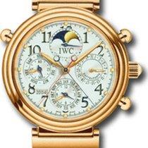 IWC Da Vinci Rattrapante in18 rose gold - full set IW3754