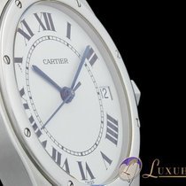 Cartier Santos Ronde Round Edelstahl Automatic 33mm
