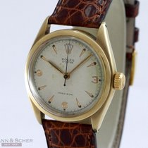 Rolex Vintage Oyster Precision Ref-6022 14k Yellow Gold Bj-1962