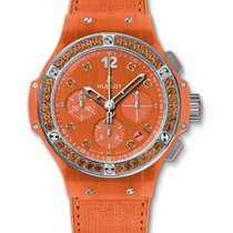 Hublot Big Bang Automatic Stainless Steel Rubber Lady's Watch
