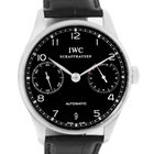 IWC Portuguese Chrono 7 Day Power Reserve Watch Iw500109 Box...