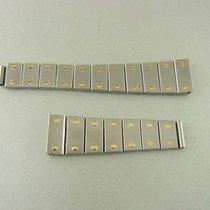 Cartier Santos Galbe Lady Armband Stahl/gold Bracelet Two-tone...