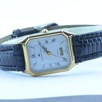 Maurice Lacroix Carree Damen Uhr Quartz 25mm Mit Leder Band