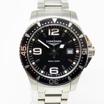 Longines Hydroconquest Quarz 39 mm Black Dial