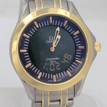 Omega Sea Master 18k Yellow Gold Stainless Steel Multi...