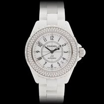 Chanel J12 Original Diamonds Ceramic Ladies H0969