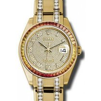 Rolex Pearlmaster 39 86348SAJOR Diamond Paved Roman Set with...