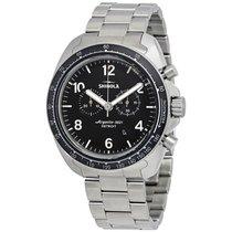 Shinola The Rambler Black Dial Chronograph Men's Watch