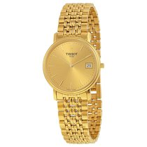 Tissot Classic Desire Champagne Dial Gold-tone Unisex Watch...